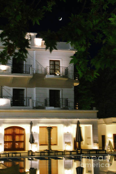 Photograph - Greece Hotel by Donna L Munro