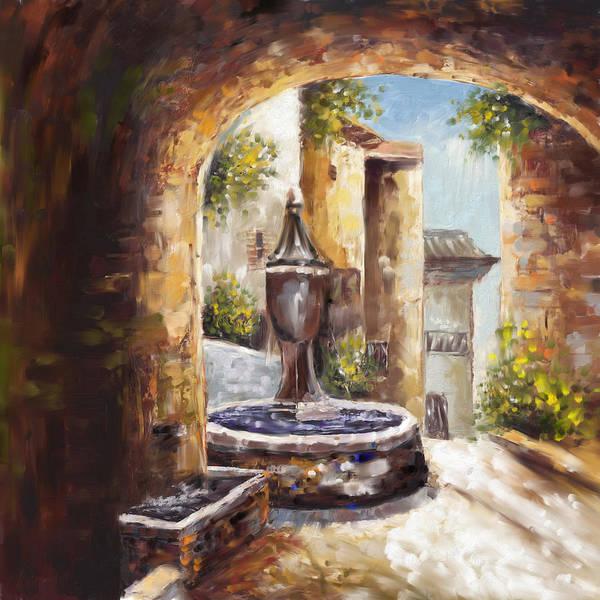 Greek House Painting - Greek 168 1  by Mawra Tahreem