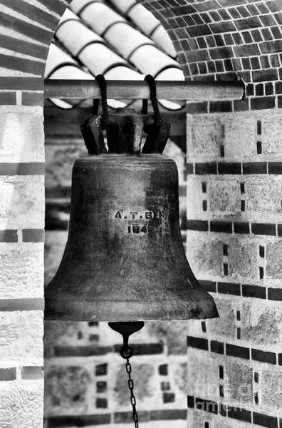 Photograph - Greek Church Bell by John Rizzuto