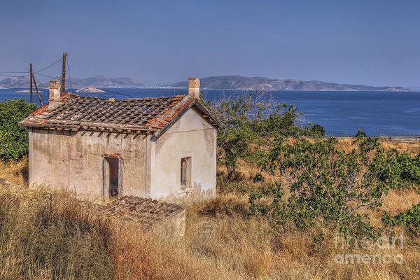 Wall Art - Photograph - Greek Coast by Rick Mann