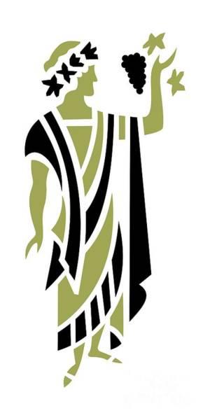 Digital Art - Greek Man In Olive by Donna Mibus