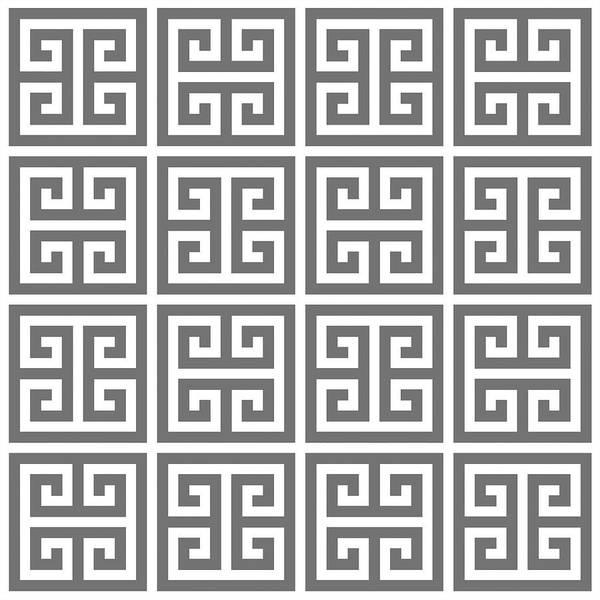 Digital Art - Greek Pattern 2 by Chuck Staley