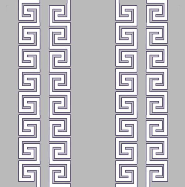 Digital Art - Greek Pattern - Chuck Staley by Chuck Staley
