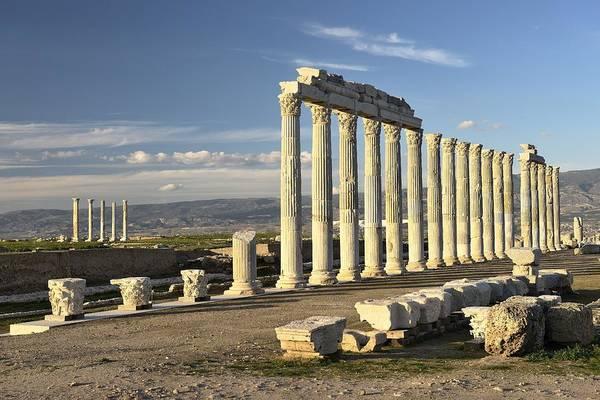 Eastern Anatolia Photograph - Greek Roman City Of Laodicea. Denizli, Turkey by David Lyons