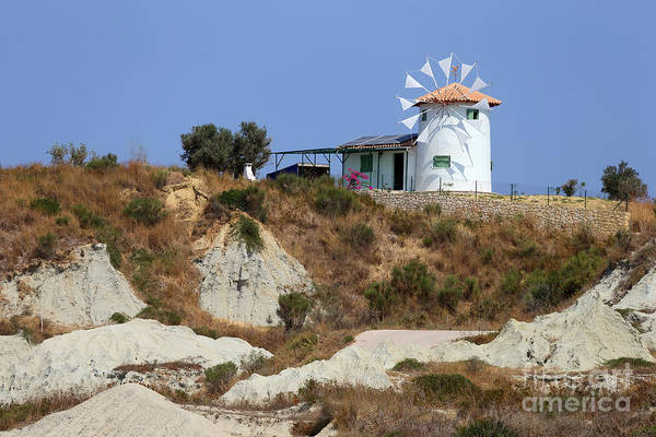 Wall Art - Photograph - Greek Windmill by Rick Mann