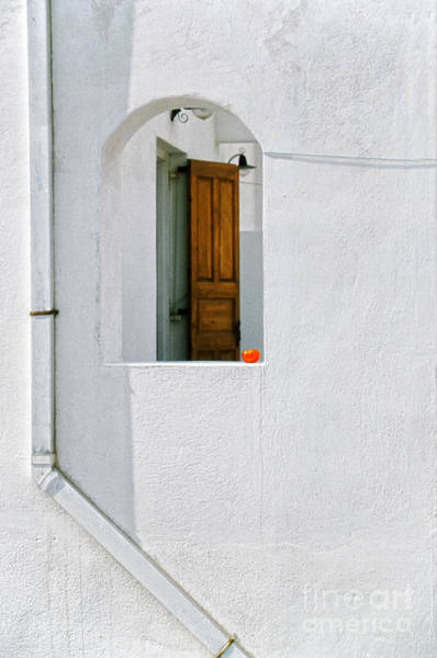 Photograph - Greek Window With Tomato by Silvia Ganora