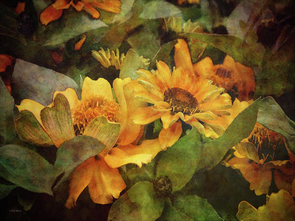 Green And Gold 1068 Idp_2 Art Print