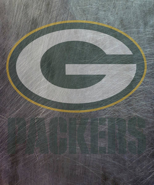 Mixed Media - Green Bay Packers Translucent Steel by Movie Poster Prints