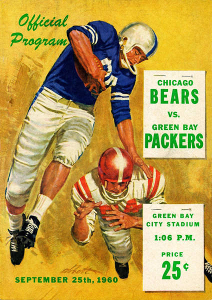 Green Bay Packers Wall Art - Photograph - Green Bay Packers Vintage Program 2 by Joe Hamilton
