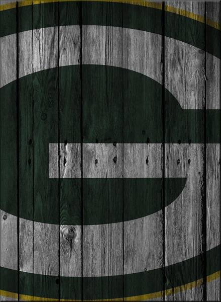 Green Bay Packers Wall Art - Photograph - Green Bay Packers Wood Fence by Joe Hamilton