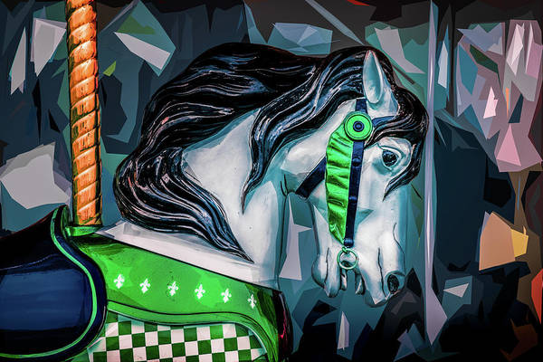 Photograph - Green Bridle 1 by Michael Arend