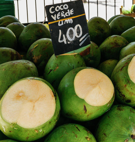 Photograph - Green Coconuts by Alexandre Rotenberg
