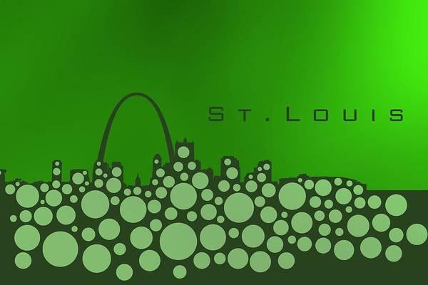 Digital Art - Green Cool St.louis by Alberto RuiZ