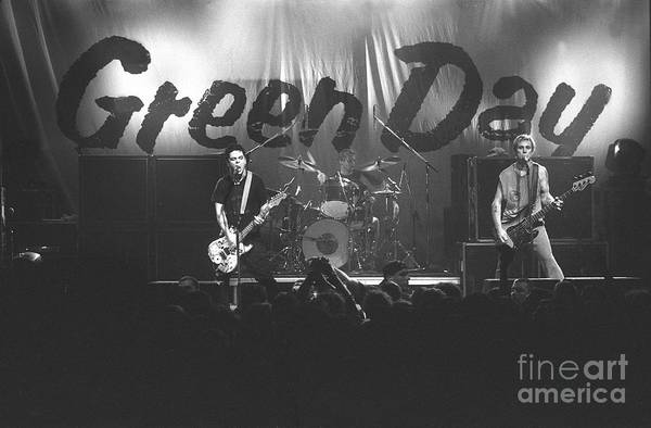 Green Day Photograph - Green Day by Concert Photos