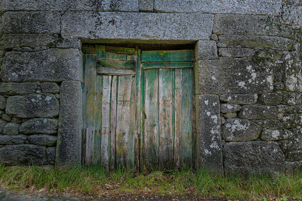 Photograph - Green Door 03 by Edgar Laureano