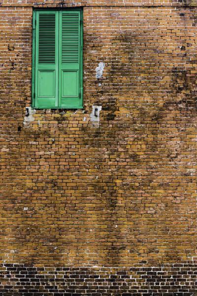 Photograph - Green Door by Chris Coffee