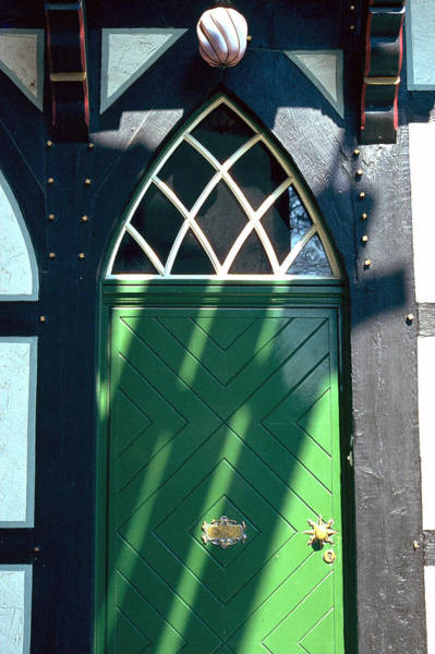 Photograph - Green Door by Flavia Westerwelle