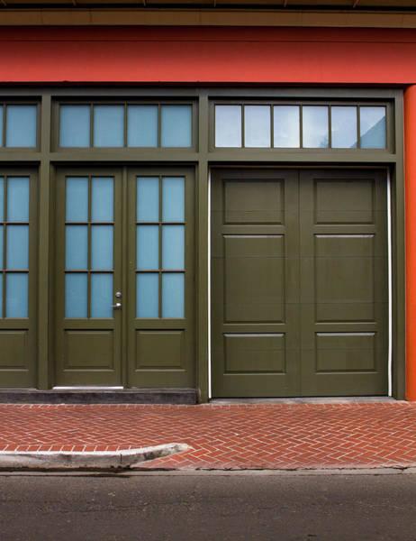 Photograph - Green Door Nola by Jeff Kurtz