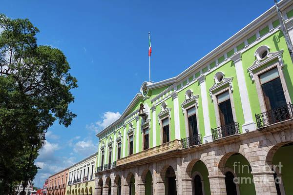 Wall Art - Photograph - Green Government Palace by Jess Kraft