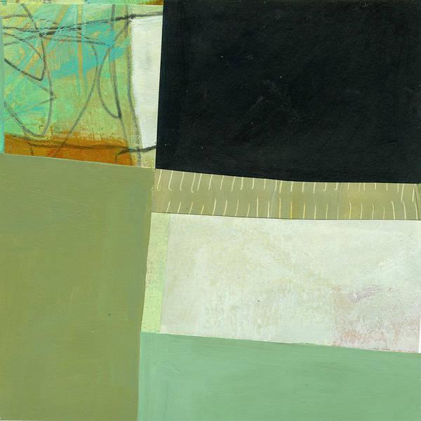Wall Art - Painting - Green Gray by Jane Davies