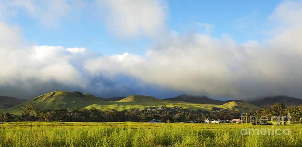 Photograph - Green Hills Of Waimea by Charmian Vistaunet