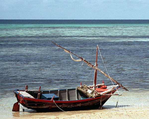 Photograph - Green Island Boat 02 by Rick Piper Photography