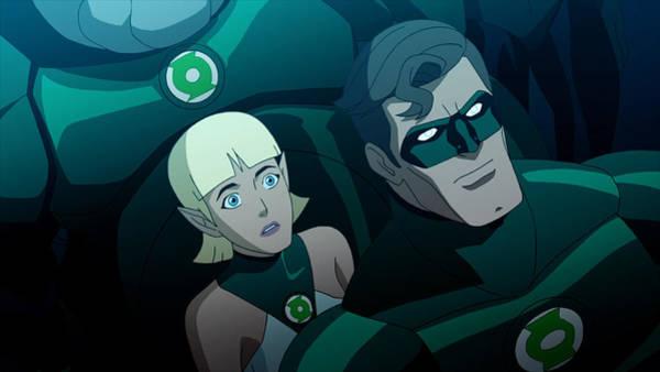 Green Digital Art - Green Lantern Emerald Knights by Maye Loeser