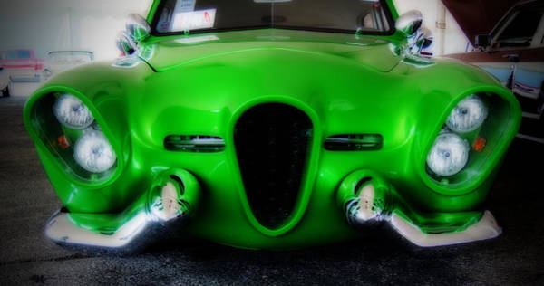 Photograph - Green Monster by Michael Colgate