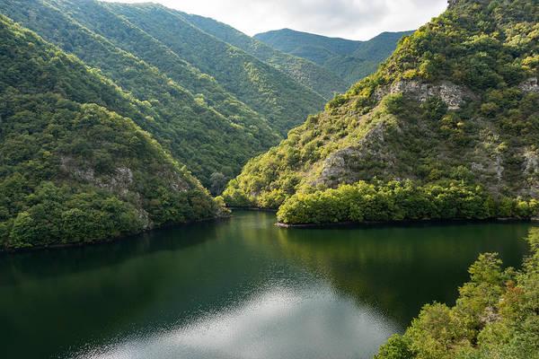 Photograph - Green Mountain Lake Peace And Quiet by Georgia Mizuleva