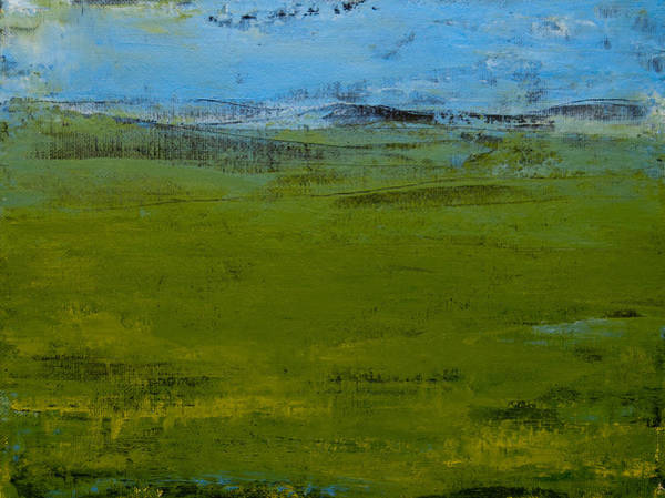 Painting - Green Pastures 1 by Jani Freimann