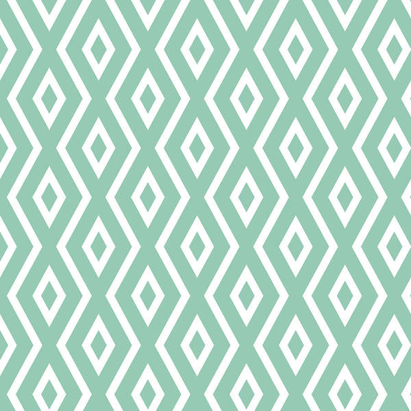 Mixed Media - Light Sage Green Pattern by Christina Rollo