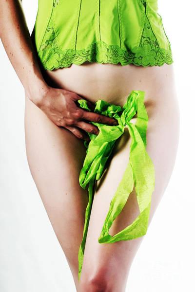 Photograph - Green Ribbon by Robert WK Clark