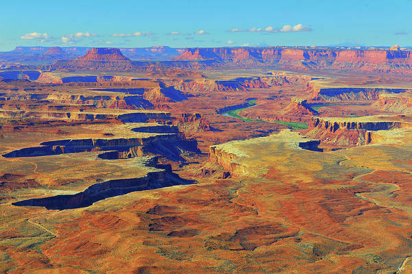 Photograph - Green River Canyon by Greg Norrell