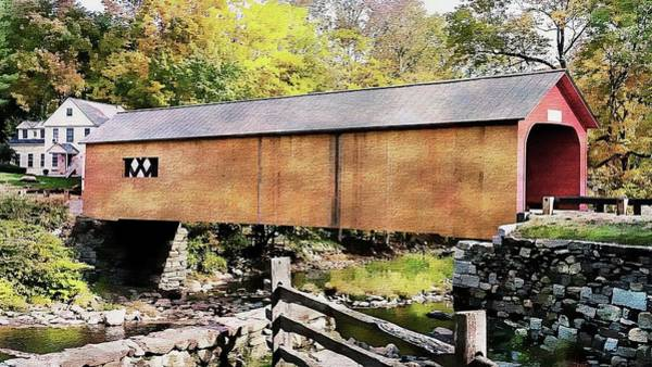 Photograph - Green River Covered Bridge - Vermont by Joseph Hendrix