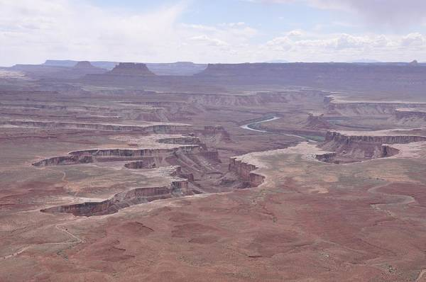 Photograph - Green River From Upheaval Dome by Frank Madia