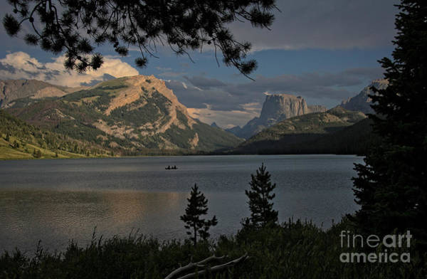 Photograph - Green River Lake by Ron Chilston