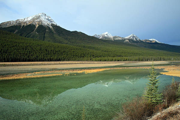Photograph - Green River Landscape In Jasper by Pierre Leclerc Photography
