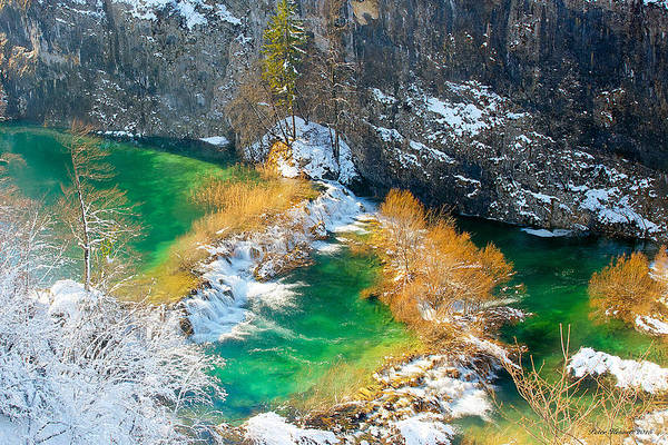 Photograph - Green River by Peter Kennett