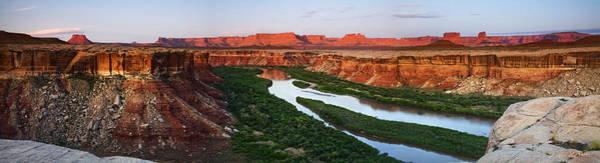 Photograph - Green River Sunrise Reflection by Dan Norris