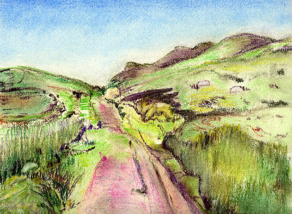Painting - Green Road 2  by Kathleen Barnes