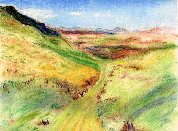 Painting - Green Road by Kathleen Barnes
