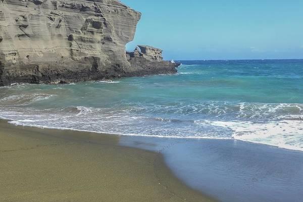 Photograph - Green Sand Beach by NaturesPix
