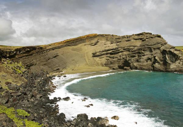 Wall Art - Photograph - Green Sand Beach On The Big Island Hawaii by Brendan Reals