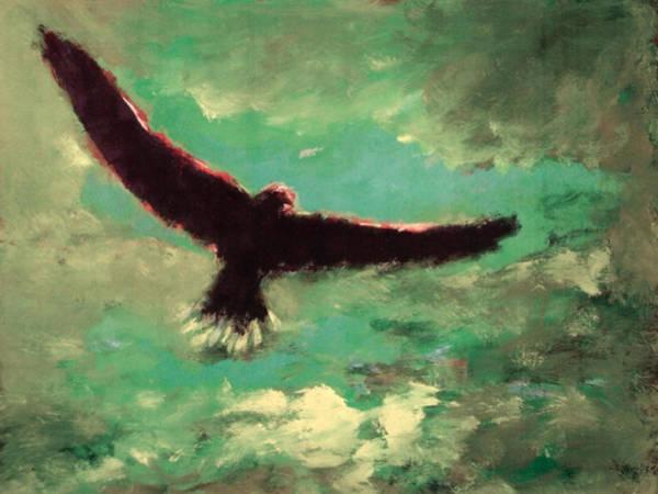 Painting - Green Sky by Enrico Garff