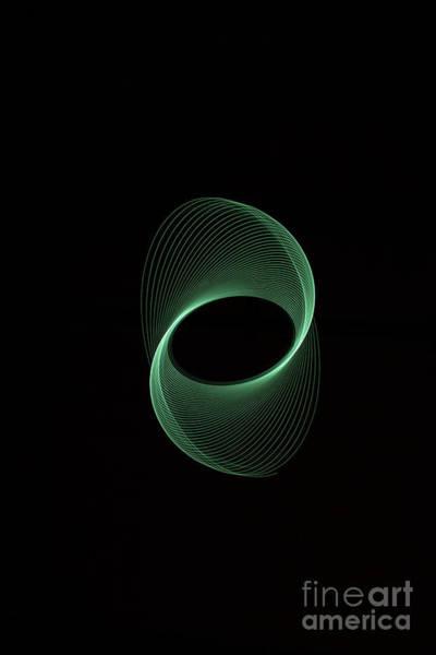 Photograph - Green Spiral by Brian Roscorla
