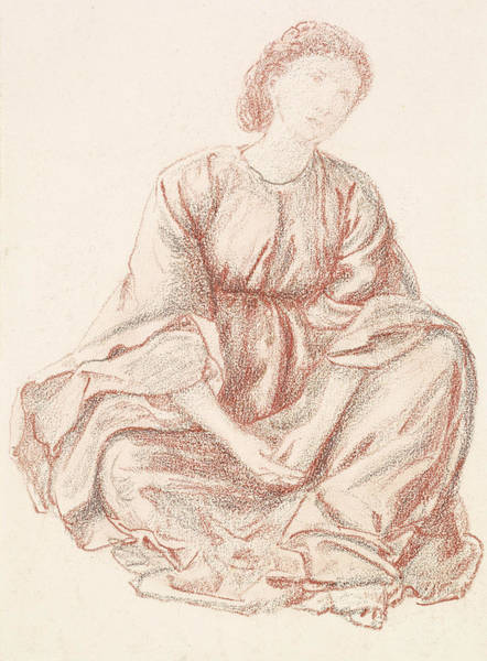 Drawing - Green Summer by Edward Burne-Jones