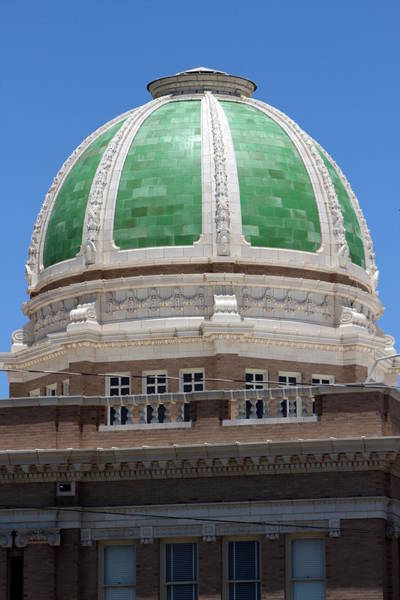 Photograph - Green Terracotta Dome by Colleen Cornelius