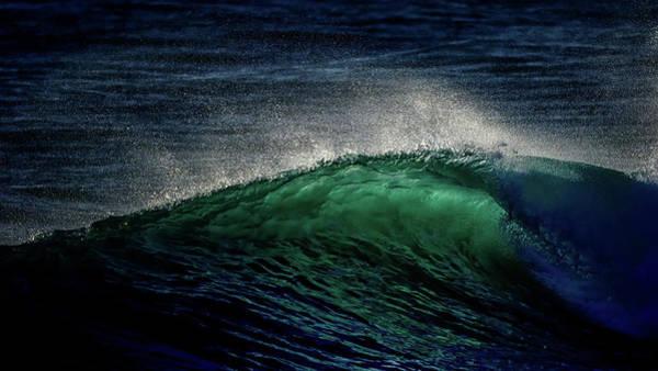 Wind Surfing Photograph - Green Twist by Stelios Kleanthous