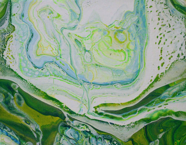 Painting - Green by Vicki Winchester