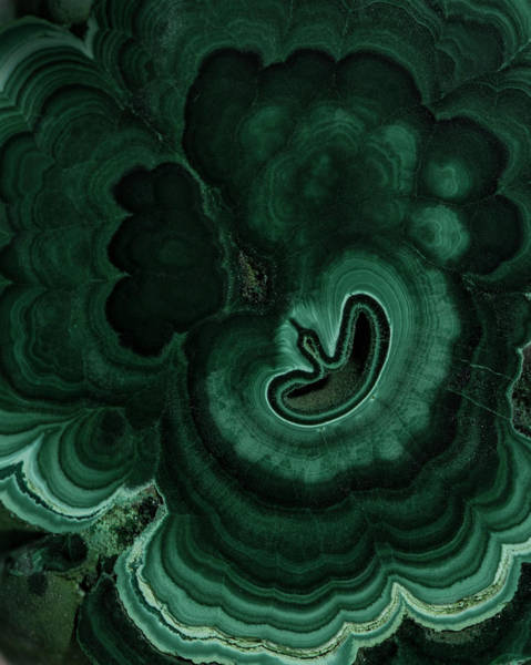 Photograph - Green Waves Of Malachite by Jaroslaw Blaminsky